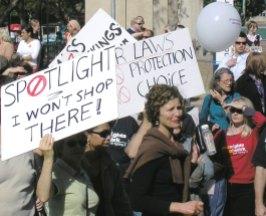 Women against Spotlight AWAs