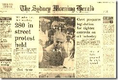 Georges, Uren arrested by Pat Glancy on 30 October 1978 - SMH