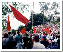 MUA 'victory' on May Day in 1998