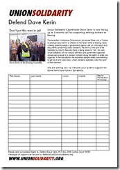 Union SolidarityPetition