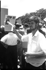Brian Laver at KY Rally 1970