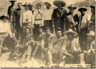 Comision Zapatista con Gral Villa en Guadalupe Zac
