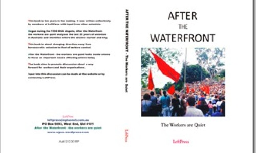 After the WaterFront - the workers are quiet