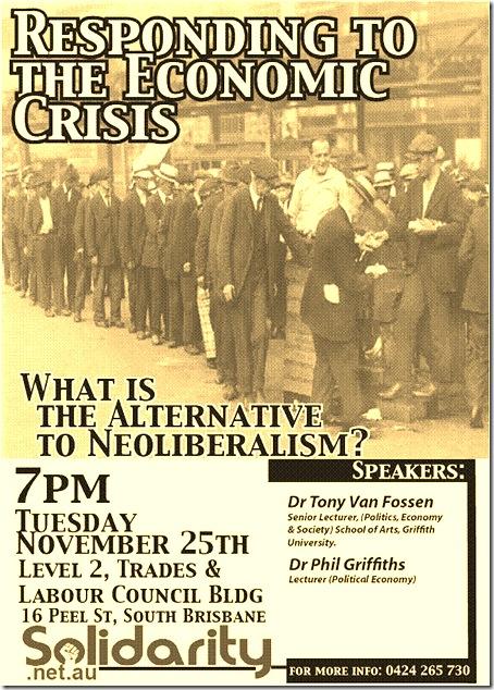 responding to the economic crisis