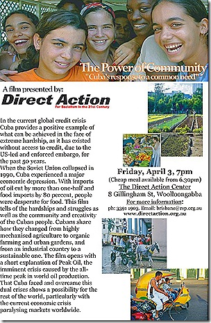 Cuban power of community