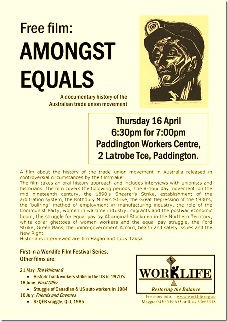 worklife film flyer