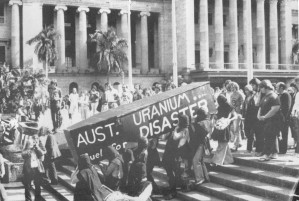 Anti-uranium demonstration 30 October 1978