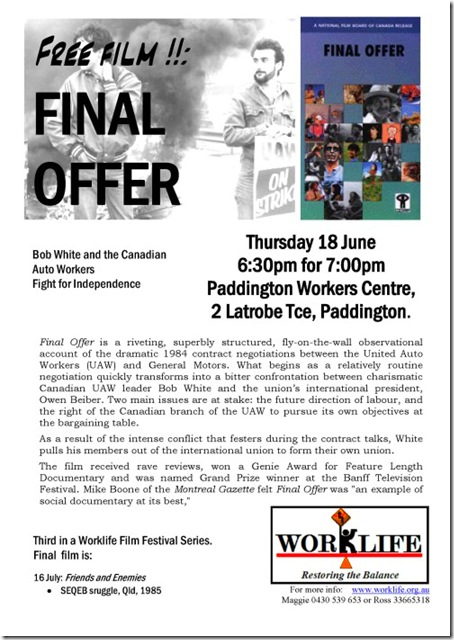 worklife film 'final offer'