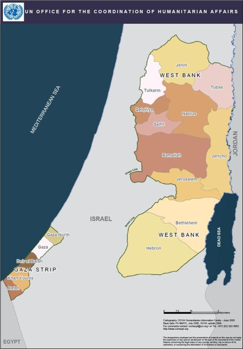 Occupied territories and Gaza