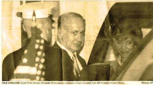 Netanyahu in the US to meet Obama