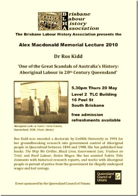 Alex Macdonald Memorial Lecture 2010 V2