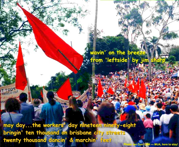 May Day in Brisbane2012