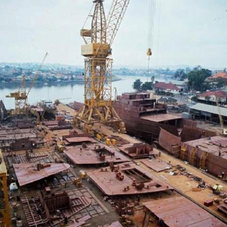 1968 Evans Deakin Shipyard Brisbane