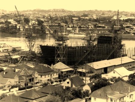 Evans Deakin Shipyards 1963