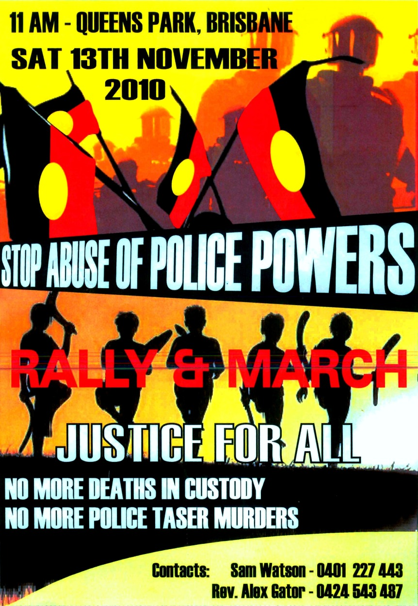 Palm Island Protest