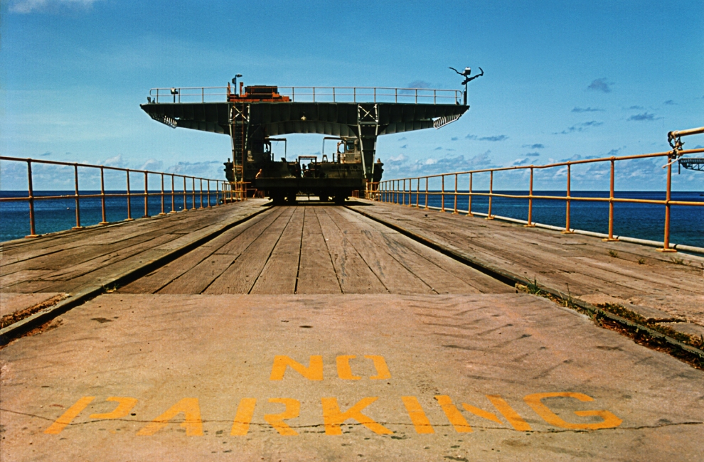 What refugees see on arrival at Christmas Island Jetty