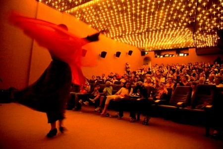 amber dances the dabke at opening night of palestinian days film festival1