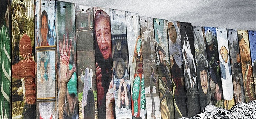 Murals on the wall