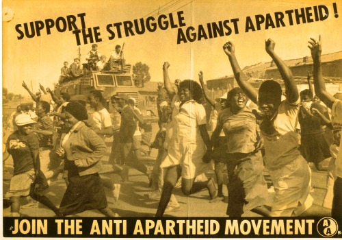 1980s anti-apartheid leaflet - Ian Curr collection  (click to read article)