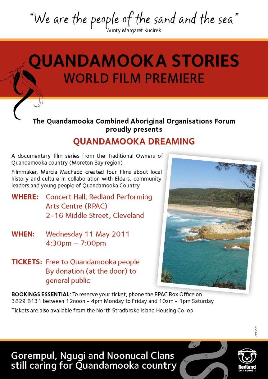Film: QUANDAMOOKA DREAMING
