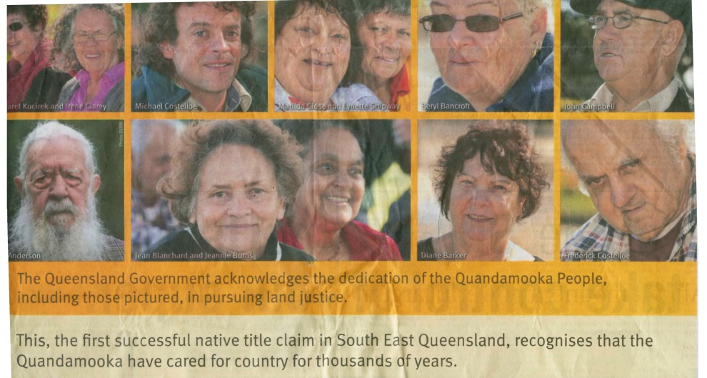 Straddie - proud past strong future - Qld Govt Advert. 2