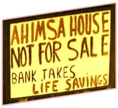AHIMSA sign