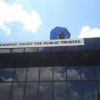 Public Trustee suspended