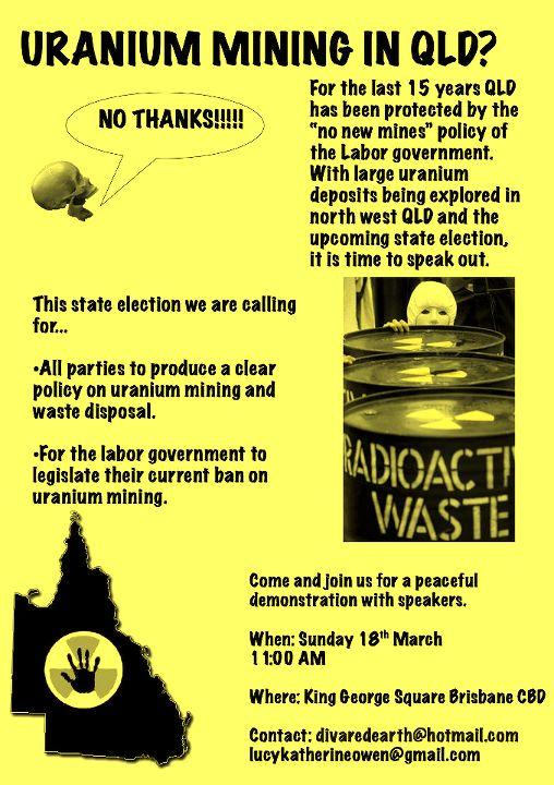 Anti Uranium Rally