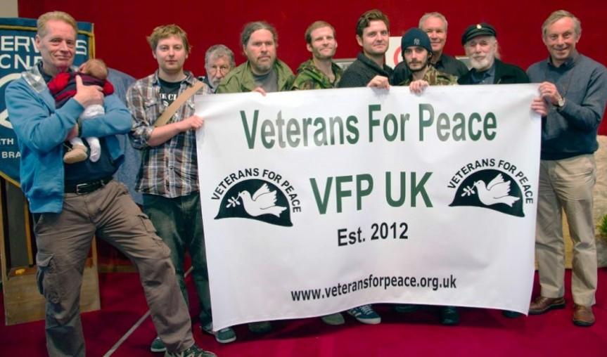 Launch of Veterans for Peace UK at Giuseppe Conlon House, London, April 9th.2012