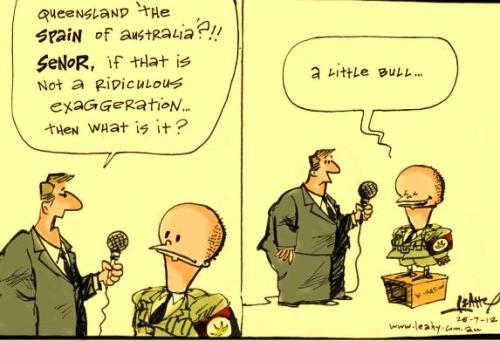 Leahy's cartoon