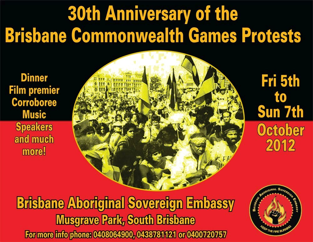 1982 Commonwealth Games Land Rights Protests