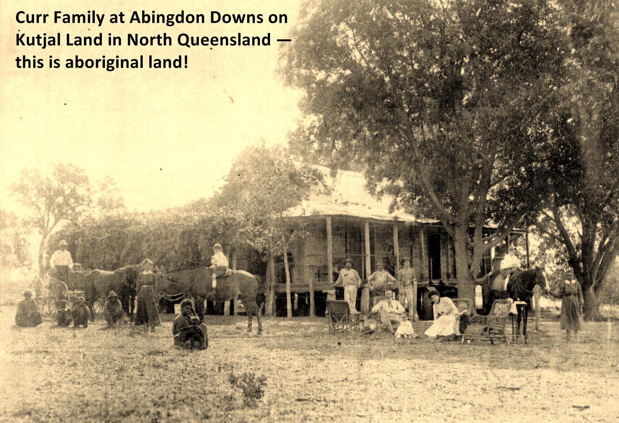 Abingdon Downs on Kutjal land in North Queensland