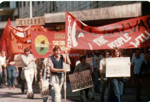 Red contingent in May Day 1982 - 3