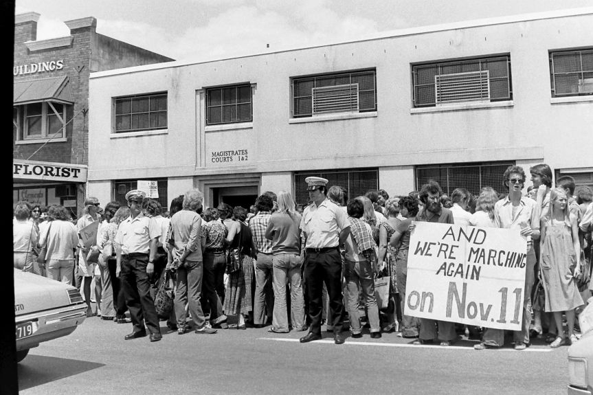 and we are marching again on 11 nov 1977