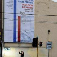 ALP taking more from single parents than from mining companies