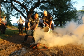 BCC puts out sacred fire