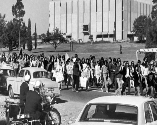 March from UQ 12 Sept 1977