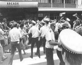11 Nov 1977 March into 'valley of death'