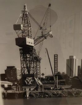 crane at evans deakin shipyard