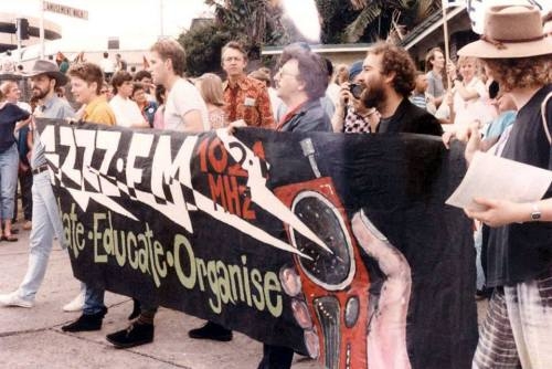 may day march 4zzz