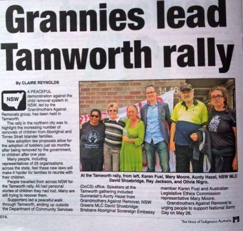 tamworth rally
