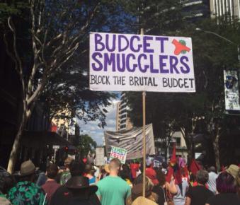 block the budget