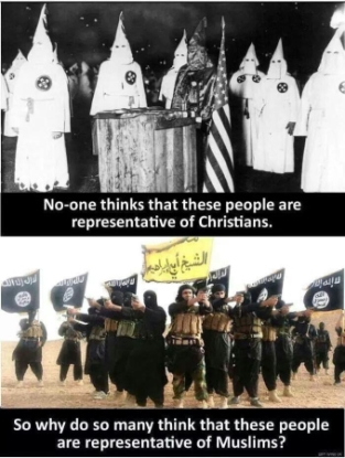 kkk and isil