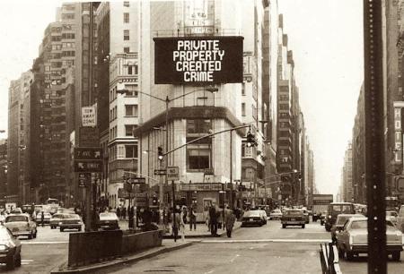 property created crime