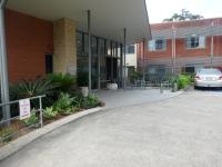Ross's RSL home entrance