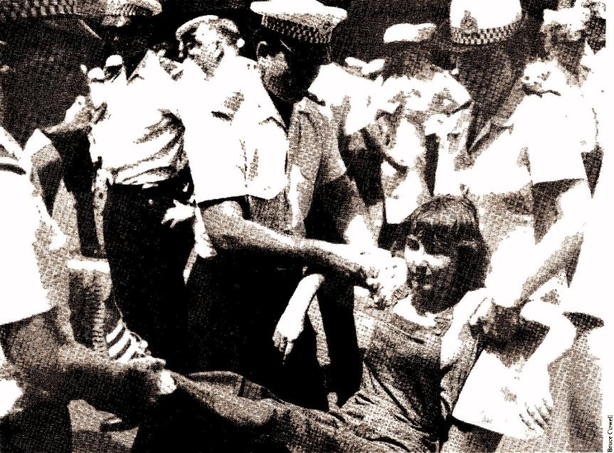 'Right to March' Movement1977-1979