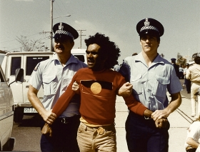 arrest near garden city 1982 commonwealth games