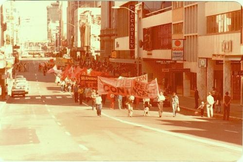 May Day March Brisbane circa 1983