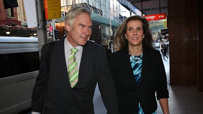 Michael Lawler and Kathy Jackson arrive at royal commission hearings last year. Source: AAP