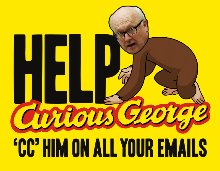 Activists cc all their emails to 'Curious George'Brandis